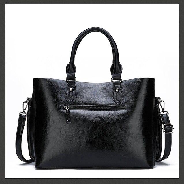 Genuine Leather Large Handbags  2