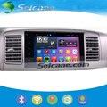 Seicane touchscreen completo 1024*600 para 2005-2010 Toyota Fortuner Android 5.0.1 Rádio Do Carro GPS com Bluetooth Espelho link TPMS OBD