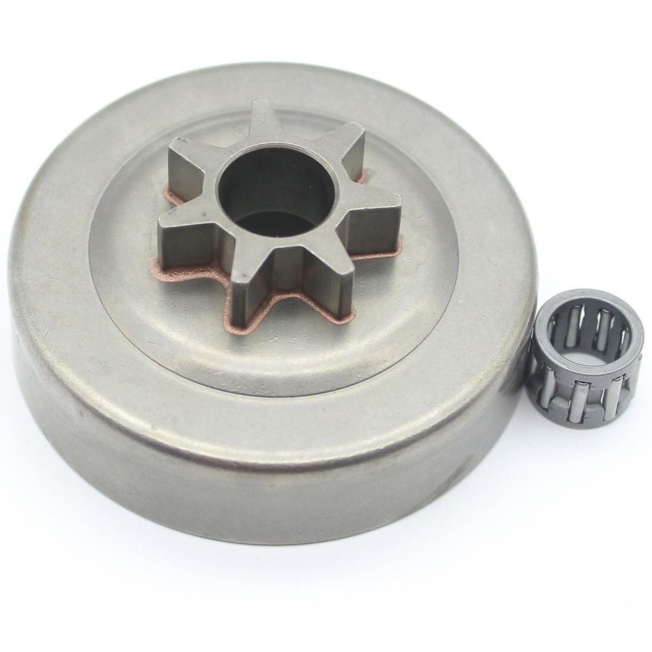 """.325"""" 7T Clutch Drum Sprocket Bearing For Husqvarna 240 235 235E 136 137 141 142 36 41 Chainsaw Parts 530069342"""
