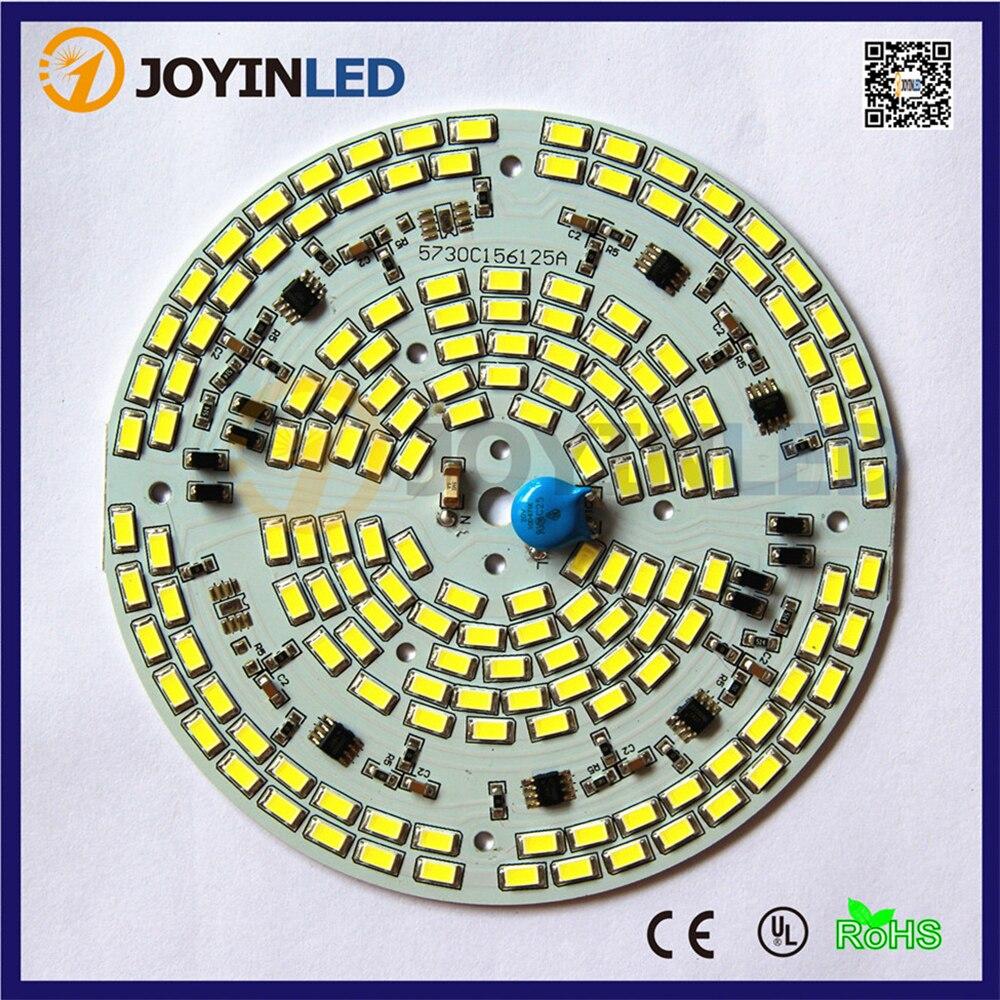 2015-ös újonnan 10PCS AC220V 230V dimmer 5730SMD 60W LED mennyezeti - Világítási kiegészítők