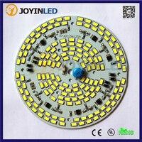 2015 Nieuw 10 Stuks AC220V 230V Dimmer 5730SMD 60W Led Plafondlamp Pcb Chips Driverless Platen Module