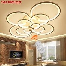 2017 Aufbau Moderne Led-deckenleuchten Für Wohnzimmer Leuchte Innenbeleuchtung Hause Dekorative Lampenschirm