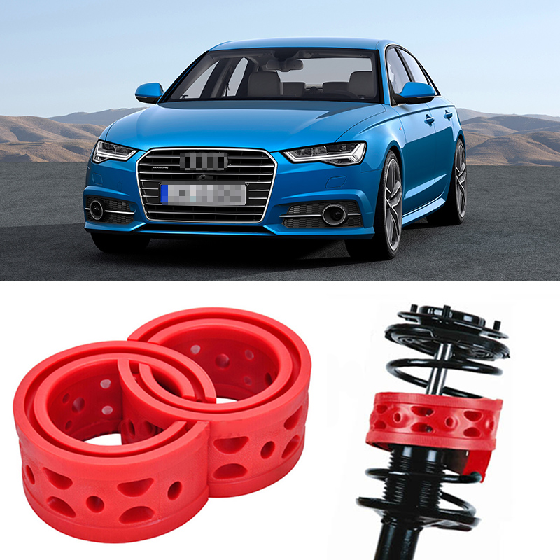 Teeze 2pcs Size C Front Shock Suspension Cushion Buffer Spring Bumper For Audi A6