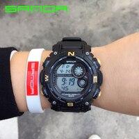2017 Famous Brand SANDA Male G Style Fashion Watch Waterproof Sport Military Men S Shock Luxury