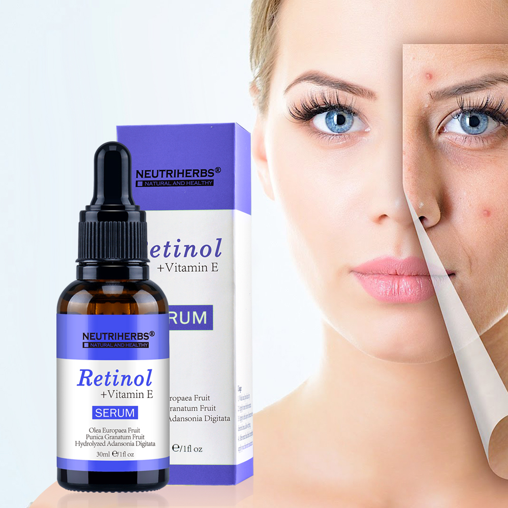 Image 2 - Neutriherbs Face Retinol Serum Vitamin E  2.5% Vitamins A Anti Acne Serum Anti Aging/Wrinkle Skin Lightening Serum Facial 30ml-in Serum from Beauty & Health