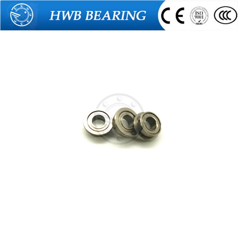 Free shipping 10pcs MF85ZZ F675ZZ LF850ZZ deep groove ball bearing 5*8*2.5 mm miniature bearing with flange ABEC3 free shipping 10 pcs smr85zz abec3 5x8x2 5mm high quality stainless steel bearing 2pcs lot ball bearing 5x8x2 5