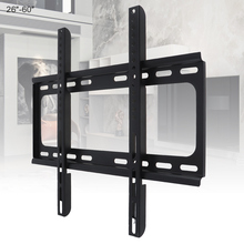 Universal 45KG  1.2mm Cold Ligation Board TV Wall Mount Bracket Flat Panel Frame for 26 - 60 Inch LCD LED Monitor Pan