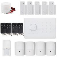 APP Controlled Wireless GSM Home Burglar Intruder Alarm System Pet Friendly PIR Detectors RFID Cards