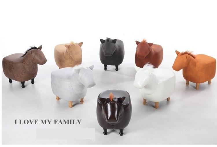 2017 Neue Nette Aminal Hocker Pferd Ottomane Wohnzimmer Stuhl Kinder Mbel Made In China KOSTENLOSER VERSAND
