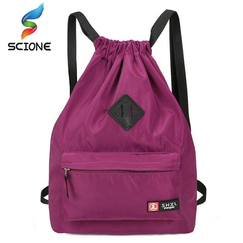 Outdoor Drawstring Bag Festival Backpack Nylon For Gym Bags Sports Fitness Travel Yoga Women Girls Student Bag Travel Backpack стоимость