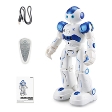 Rc Robot Toy Remote Control Robot Programable Educational Toys Intelligent Singing Dancing Toys For Boys Girls Children Robotics 2 4g voice control car one key deformation humanoid intelligent dancing robot toys remote control educational truck robot