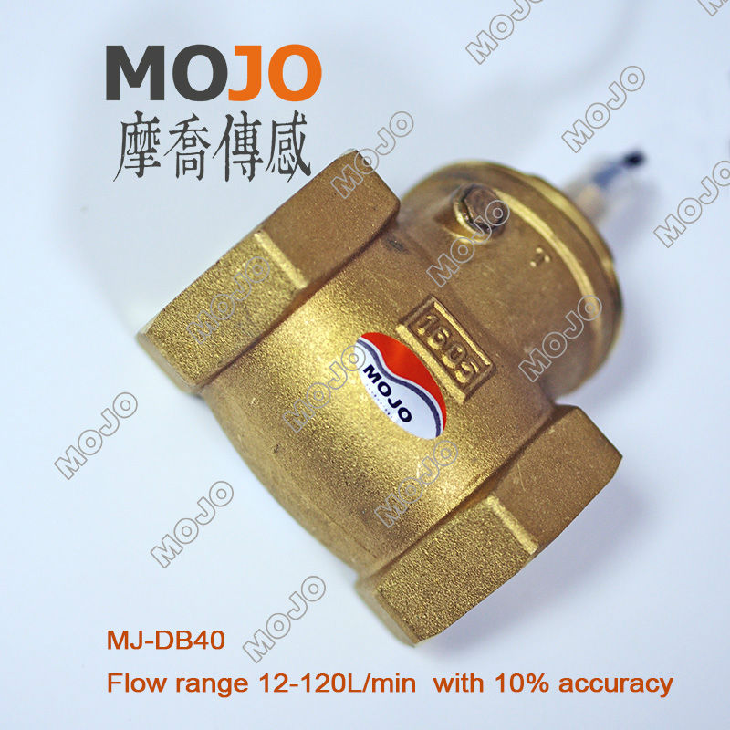MJ-DB40 G1'1/2' with high flow range use in water pump solar water heater small flow air flow sensor sika flowswitch Flow Switch
