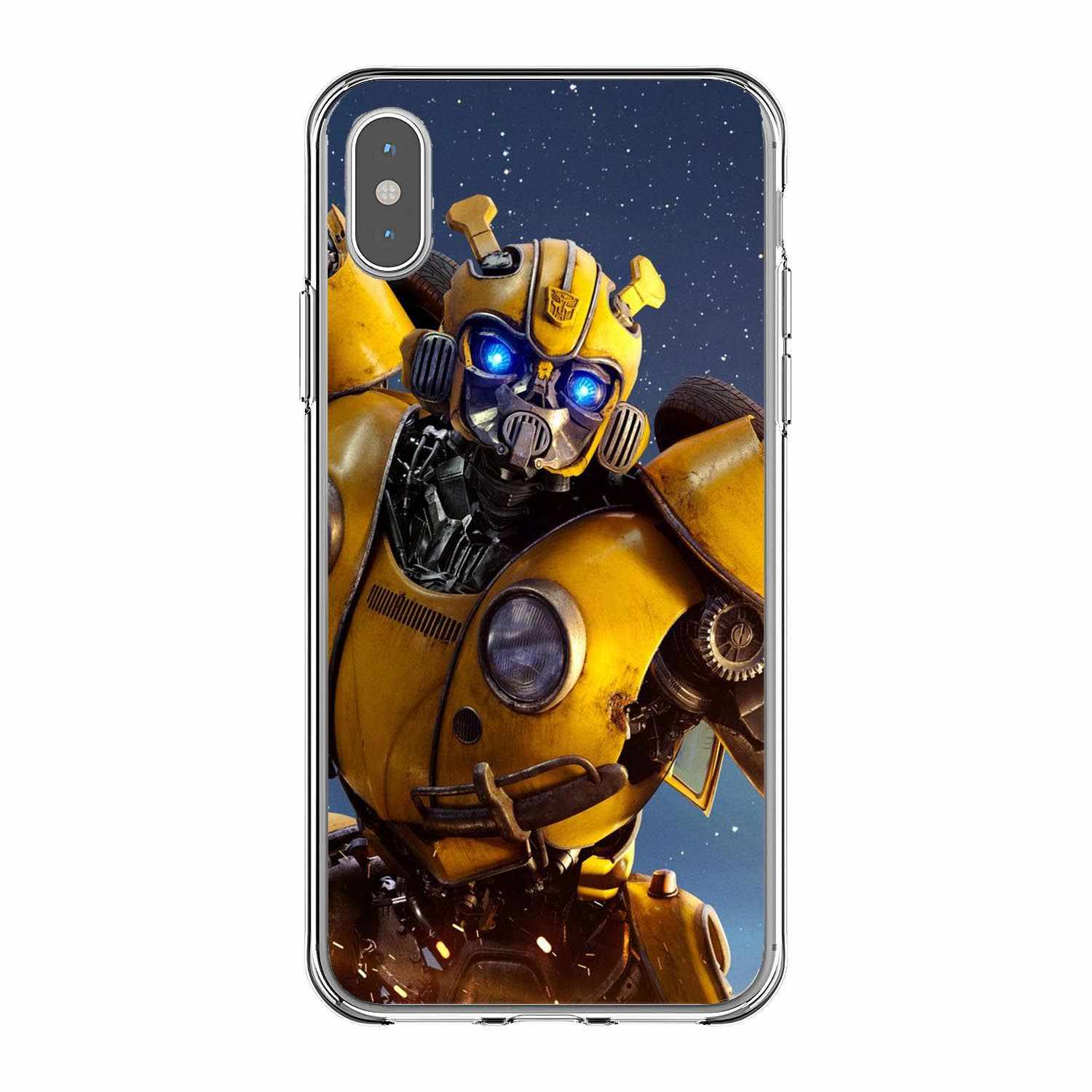 best service 08b23 3a86f Cuddly Transformers Bumblebee Phone Cases Cover For iPhone X10 MAX 5S SE 6  6SPlus 7 8Plus Soft silicon TPU Coque Shell Cover