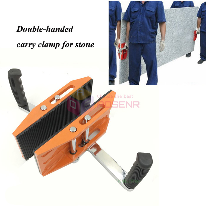 2* Single-handed Carrying Clamp for Carrying Glass Stone Ceramic Plate 4-20mm US
