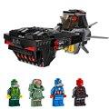 Figuras de star wars jedi obij-wan inorterceptor montaje de bloques de construcción de figuras de juguete de regalo del muchacho compatible con lego