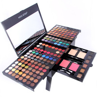 Miss Rose piano makeup set matte eyeshadow palette nude shimmer eye shadow pigment with brush mirror in box MS014 Eye Shadow