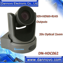 DANNOVO SDI+HDMI+RJ45 IP Video Conference Camera 20x Zoom, H.265 Video Coding, Support Audio, ONVIF, RTSP, VLC(DN-HDC062)