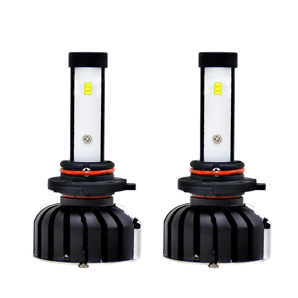 Светодиодный фонарь 2 шт., супер яркая передняя фара, автомобильные аксессуары, светодиодный противотуманный фонарь, замена высокой мощности