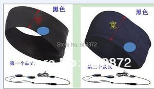 Image 4 - Linhuipad Pillow & Hat Dual Speakers Braided Earbud Headphones Flat Headband Earphones 3.5mm stereo plug
