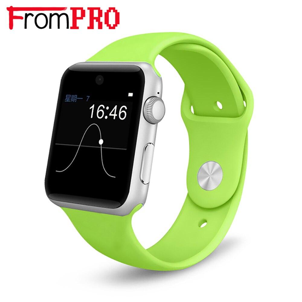imágenes para FROMPRO LF07 Apoyo Reloj Inteligente Bluetooth Tarjeta SIM Original Funcionamiento Corona Mágica Vestir Perilla para Apple iphone Android Teléfono