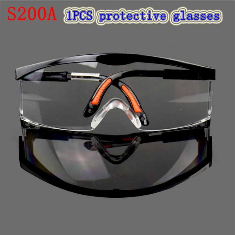 S200A  protection glasses high quality Anti-shock Anti-UV Anti-fog goggles movement Ride laboratory safety goggles provide safety glasses explosion protection anti shock protective glasses universal high quality goggles