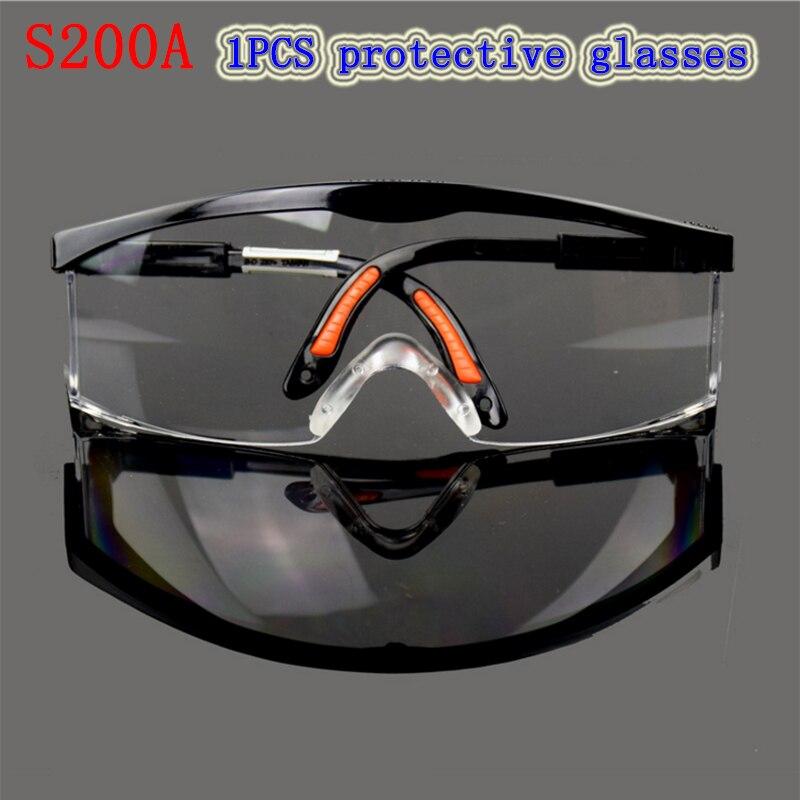 S200a защитные очки высокое качество анти-шок анти-туман очки движение ездить лаборатория защитные очки