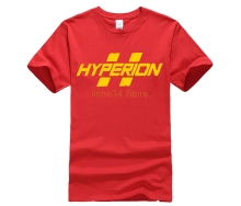 Mens Borderlands Hyperion LOGO Cotton T shirt Black
