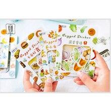 45pcs/pack Kawaii Japan Salt Sicker Bag sticker Paper Decorative Stationery Stickers Scrapbooking DIY Diary Album Stick Label