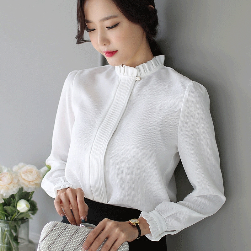 Popular Women White Business Shirts-Buy Cheap Women White Business ...