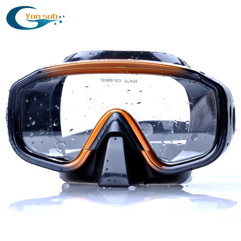 Peşəkar Silikon Scuba Dive Maska Snorkel Üzgüçülük üçün - Su idmanı - Fotoqrafiya 3