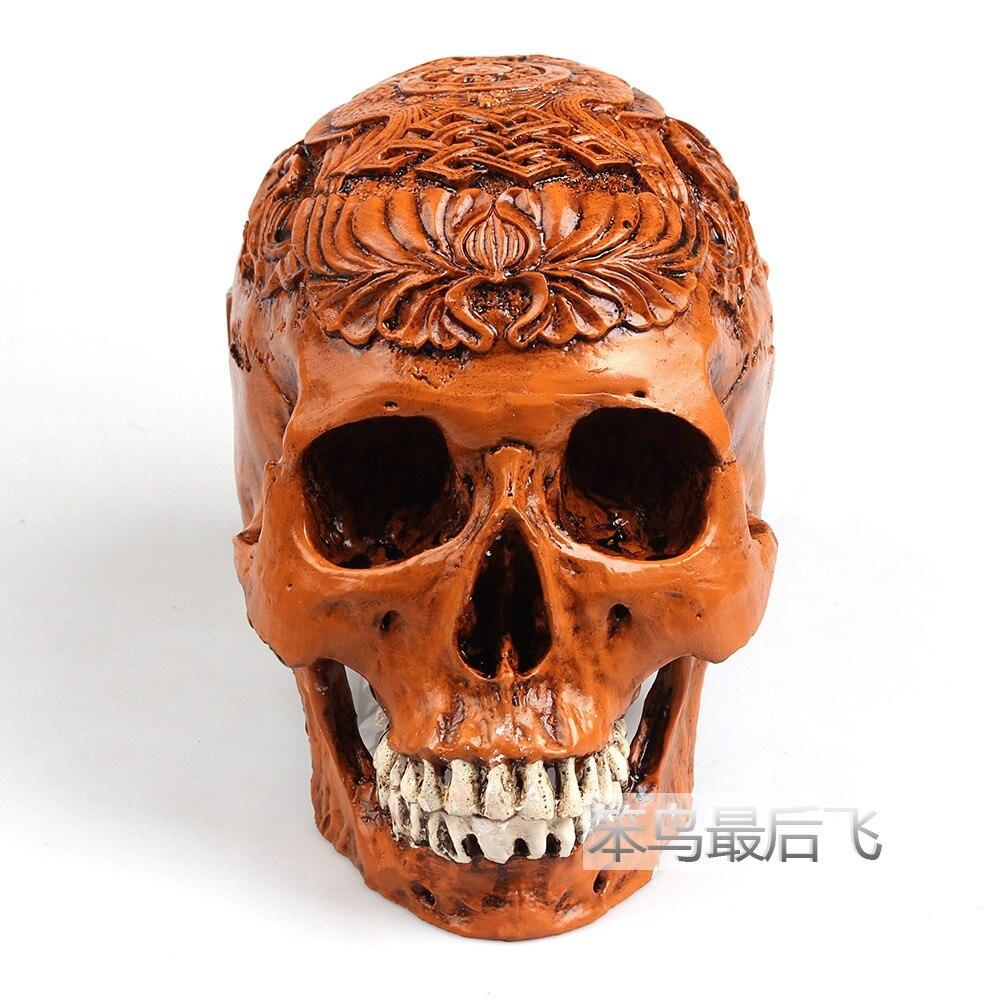 egito antigo marrom 1 1 modelo vida resina tamanho do cranio cranio humano modelo de esqueleto