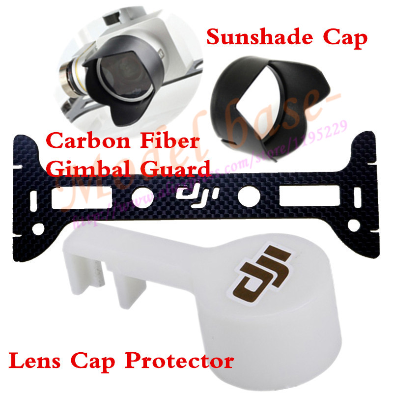Camera Lens Cover Cap Sun Hood CF Gimbal Guard for DJI Phantom 3 PTZ Camera