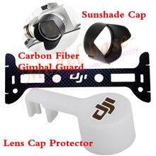 Камера крышка объектива Крышка солнце Гуд CF Gimbal гвардии для DJI Phantom 3 PTZ Камера
