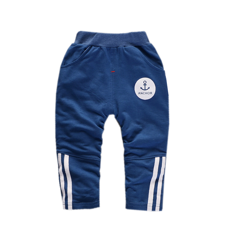 Fashion Children Pure Cotton Clothes 2018 Spring Summer Baby Cartoon Pants Toddler Sport Trousers Casual Kids Clothing Hot Sale