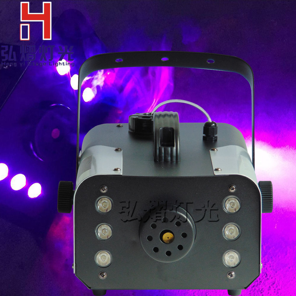 mini 900W LED RGB 3in1 Wireless remote control fog machine pump dj disco smoke machine for party wedding Christmas stage fogger 2pcs lot shehds mini 400w rgb 3in1 smoke machine for dj disco party weedding stage fogger machine wireless remote control