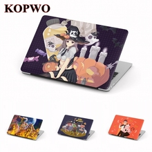 KOPWO Halloween Laptop Protective Case for New Apple Macbook Air Pro 11.6 12 13.3 15 Inch Cartoon Notebook Cover For A1706 A1708