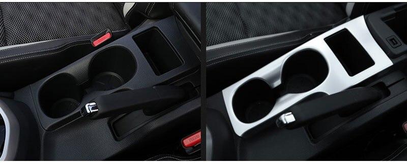 Nissan Qashqai 2016 J11 Su Kuboku Sahibi Dekorativ Çerçeveli - Avtomobil daxili aksesuarları - Fotoqrafiya 4