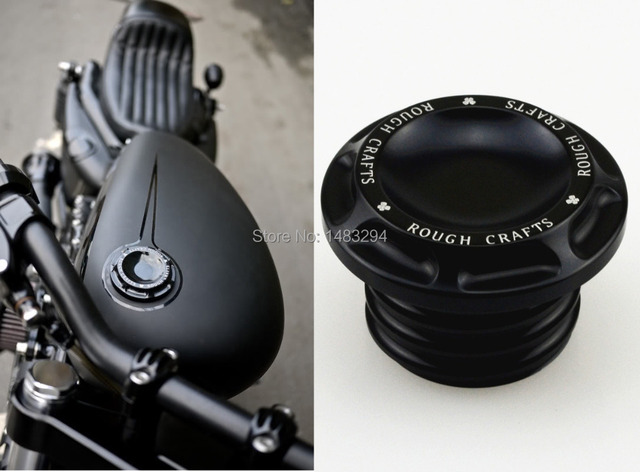 Cnc Custom Rc Aluminum Fuel Gas Oil Cap For Harley