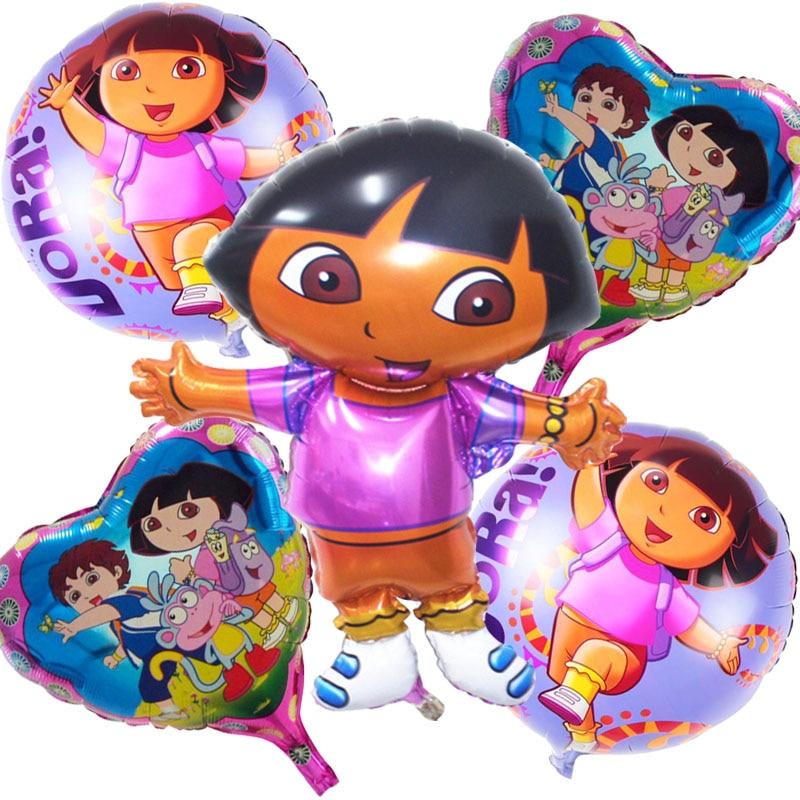 5pcs/lot large Cartoon Daro Foil Balloons Helium Balloon Inflatable classic toys