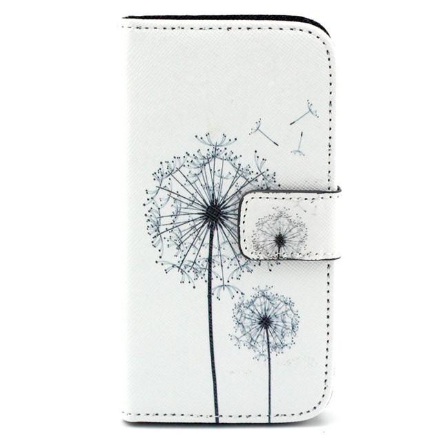 Cute Cartoon Owl Leather For Samsung S5 Flip Cover Samsung Galaxy S5 Case