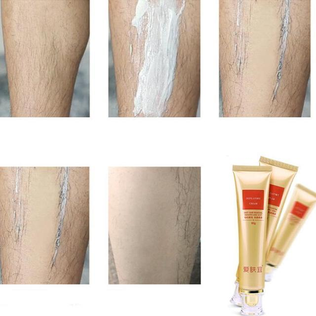 Powerful Permanent Hair Removal Cream