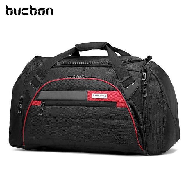 Bucbon 45l gran Multi-función de la bolsa de deporte de las mujeres de los 0debcd374f134