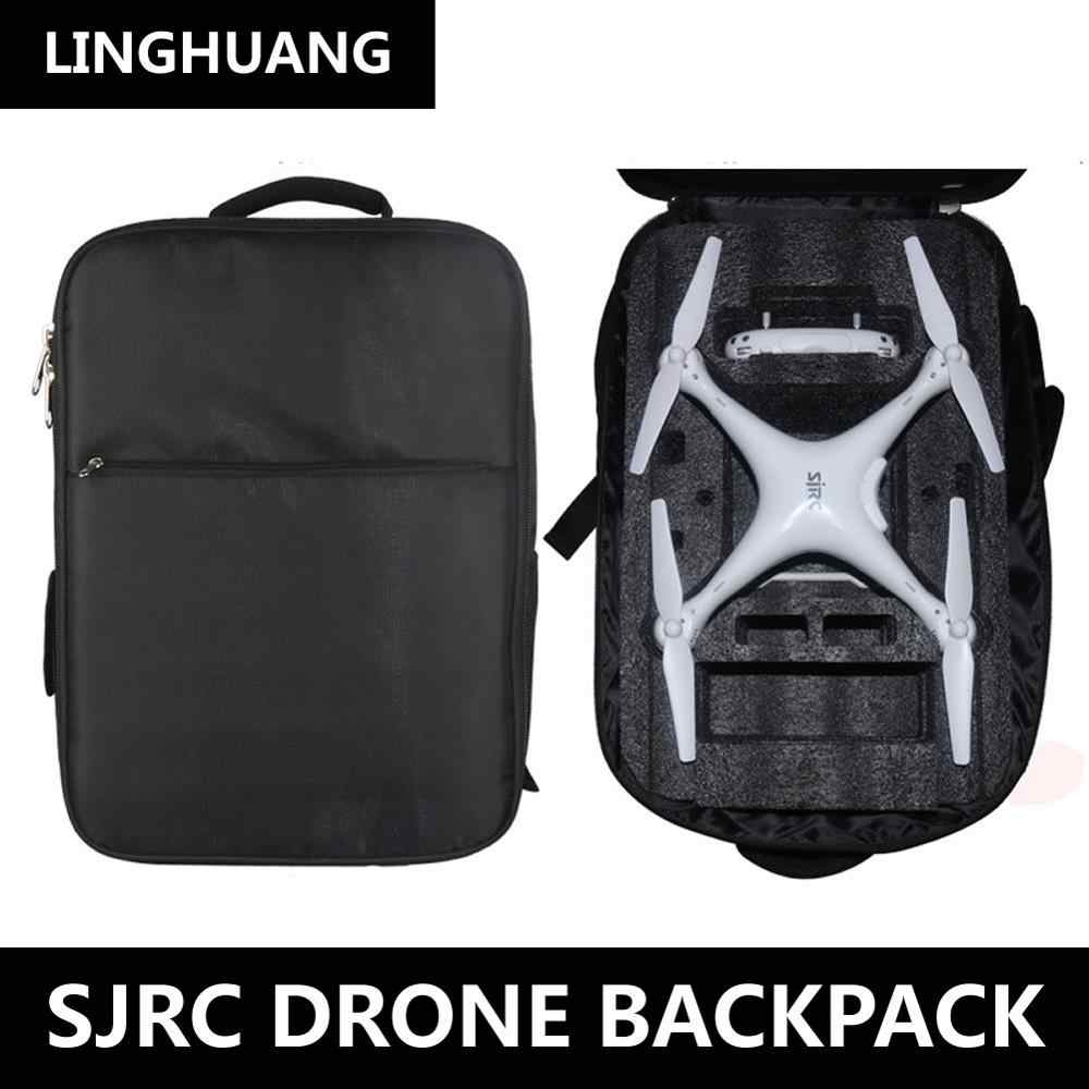 fb29b044867 Detail Feedback Questions about New SJRC S70W Drone Dedicated Backpack  Waterproof Accessories Portable Storage Bag High Quality Black Rucksack For  ...