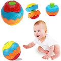 Baby Hand Grasp Transformation Ball Baby Early Educational Ball Creative Assembly Baby Toys
