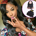 Hot Sale 360 Lace Frontal Closure With Bundles Soft Beauty Peruvian Body Wave Human Hair Pre plucked 360 frontal With Bundles