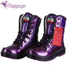 Glglgege Women Winter Warm Boots Antiskid Outsole Lady Snow Boots Fashion Style Easy Wear Lace-Up Plush Boots Plus Red blue
