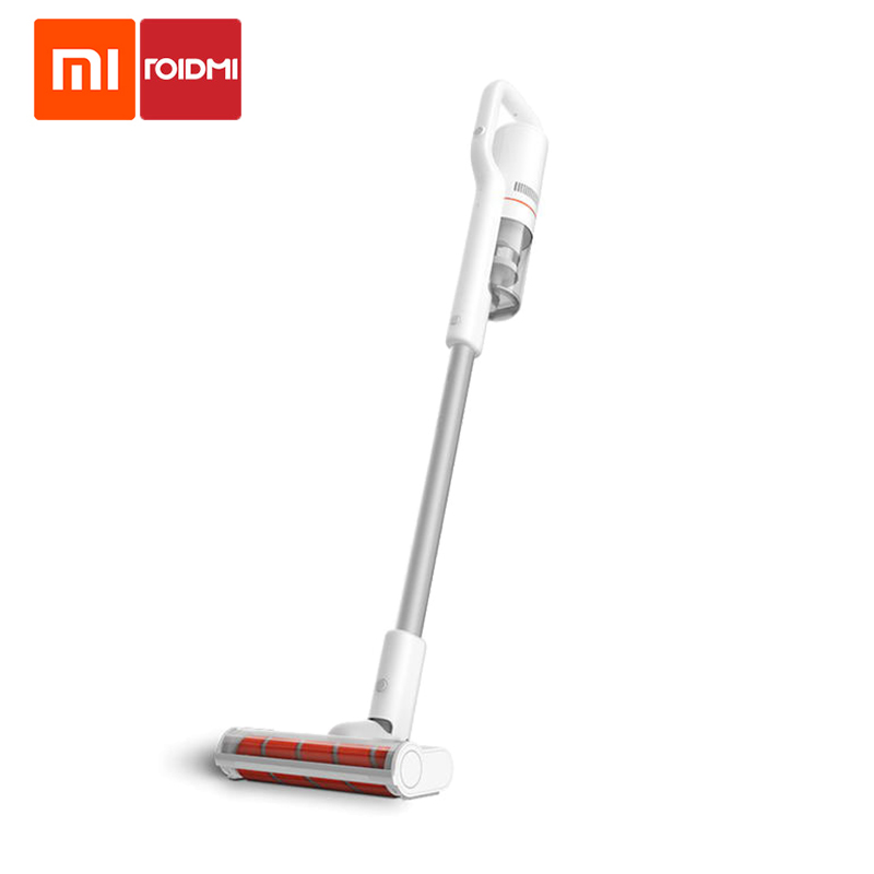 100% Original Xiaomi Roidmi F8 Cordless Vacuum Cleaner Handheld Dust Collector Bluetooth LED Low Multifunctional Brush Noise