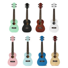 23 Zebra Acoustic Basswood Ukulele Uke Instrument Electric Bass 4 Strings Guitar Guitarra For Musical Instruments