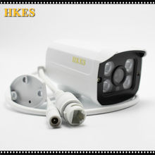 Envio Gratis HD de 1920*1080P camara IP Bullet IR vision nocturna IR LED impermeable 4array CCTV IP Cam