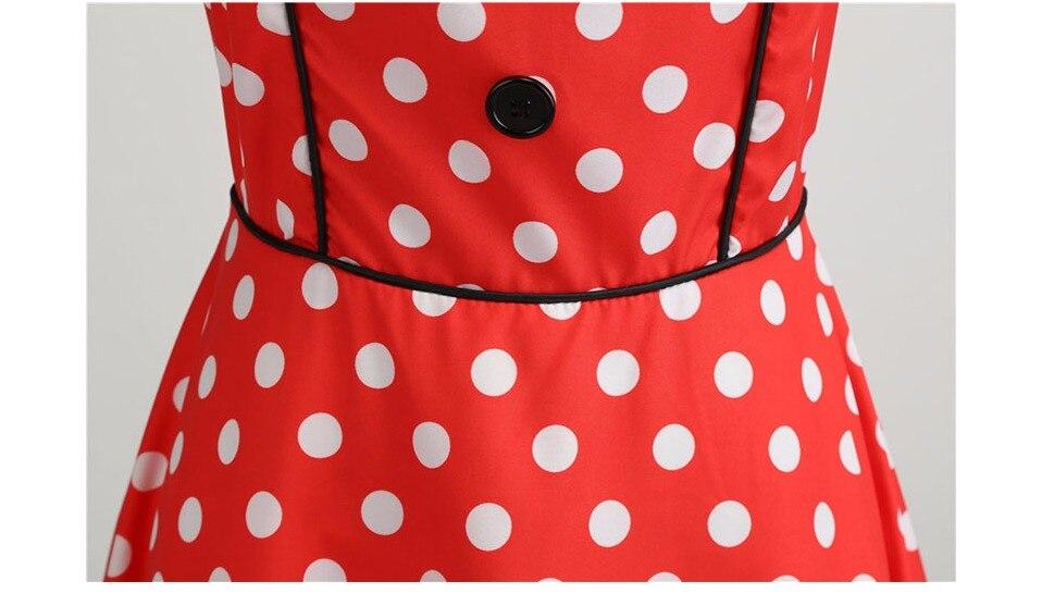 Koktejlové Retro párty šaty jednofarebné prešívaný lem bodky (5 variánt) 22